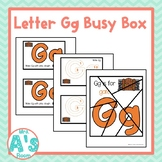Alphabet Task Box Activity | Letter G