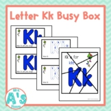 Alphabet Task Box Activity | Letter K