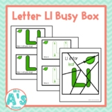 Alphabet Task Box Activity | Letter L