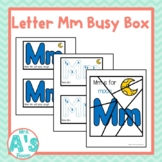 Alphabet Task Box Activity | Letter M