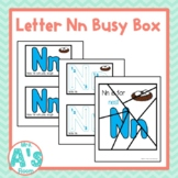 Alphabet Task Box Activity | Letter N