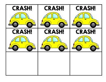 Alphabet CRASH game