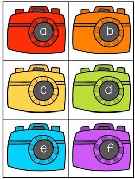 Alphabet Cameras