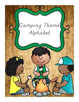 Alphabet Camping Theme/Outdoors