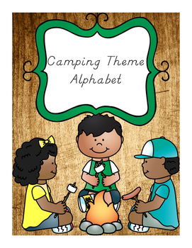 Alphabet Camping Theme/Outdoors