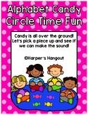 Alphabet Candy Circle Time Game