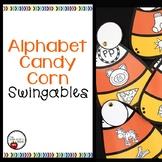 Alphabet Candy Corn SWINGABLES