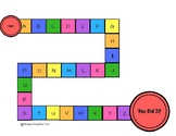 Alphabet Candyland Game For Uppercase/Lowercase Letter Rec