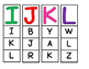 Alphabet Capital Letter Clip Cards