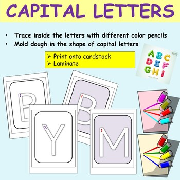 Alphabet: Capital Letters A to Z, Letter Formation Activities