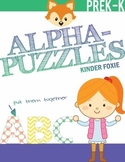 Alphabet Capital Letters Puzzles