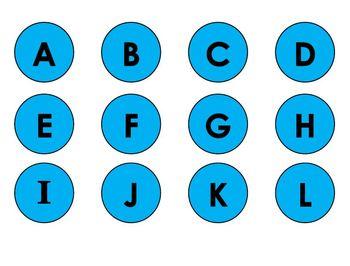 Alphabet Car Game