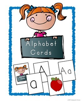 Alphabet Card Game ~ Letter and Phonemic Awareness for Beginning Sounds