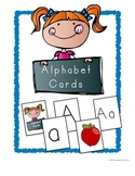 Alphabet Card Game ~ Letter and Phonemic Awareness for Beg