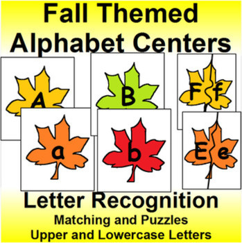 Alphabet Card Games and Puzzles Bundle for All Four Seasons