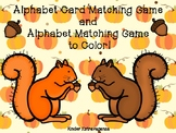 Alphabet Card Matching Game