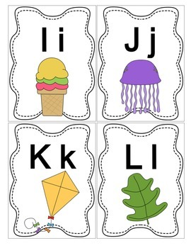 Little Alphabet Flip Book
