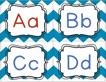 Alphabet and Sound Task Cards