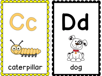 Alphabet Cards