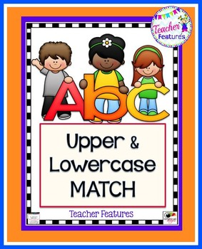Alphabet Cards: Upper and Lowercase Match