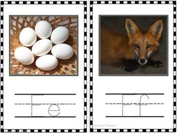 Alphabet Cards with Real Life Photos
