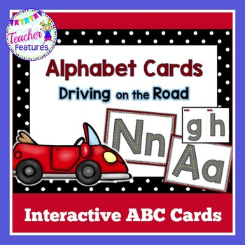 Alphabet Cards (Roadway Theme)