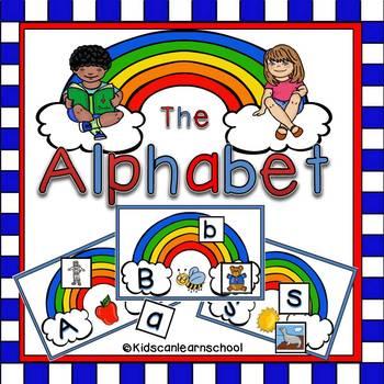 Alphabet. Letter-Sound recognition Workstation