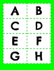 Alphabet Flash Cards for Word Work