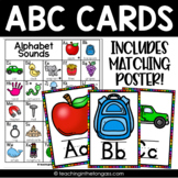 Alphabet Wall Cards and Alphabet Poster Chart