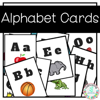 Alphabet Cards with Pictures