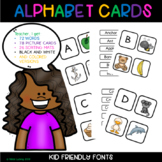 Alphabet Cards and Sorting Mat