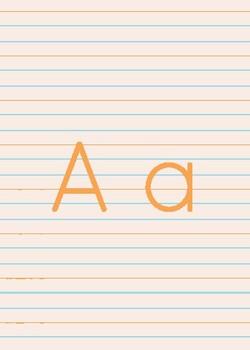 Alphabet Cards & Wall Decor