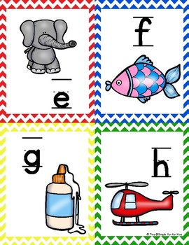 Alphabet Cards A-Z: Upper case, lower case, and mixed case!