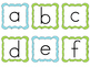Alphabet Cards (ABCs) matching upper/lowercase letters