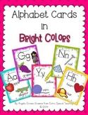 Alphabet Cards - Bright Colors