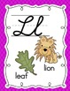 Alphabet Cards - Bright Colors in Cursive