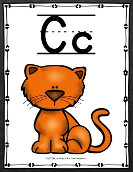 Alphabet Cards - Chalkboard