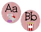 Alphabet Cards: Circus Themed