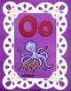 Alphabet Cards {Colorful Pastel Lace Design}