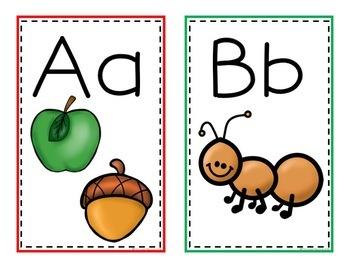 Alphabet Cards(Covers for Envelopes)