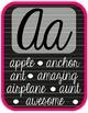 Alphabet Cards-Cursive