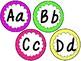 Alphabet Cards FREEBIE {D'nealian}
