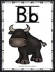 Alphabet Cards - Farm Animals Decor