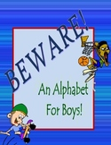 Alphabet Cards For Boys