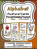 Alphabet Posters (Forest/Camping Themed)