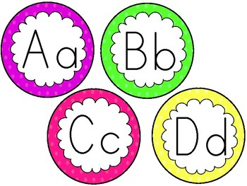 Alphabet Cards Freebie