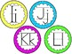 Alphabet Cards Freebie {Lined}