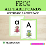 Alphabet Cards: Frogs with Plaid