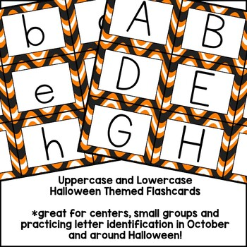 Alphabet Cards {Halloween edition}