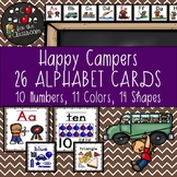 Alphabet Cards - Happy Campers Decor